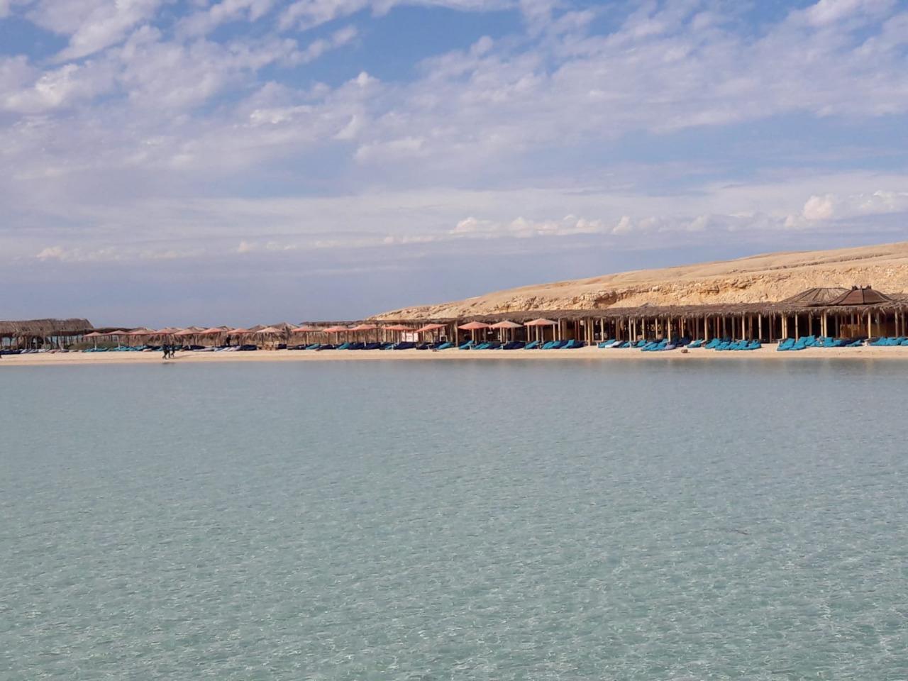 Orange Bay - Schnorcheln am Karibik Strand ab El Gouna