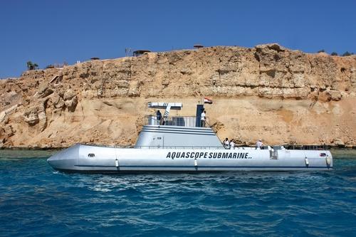 U-Boot ab Sharm el Sheikh
