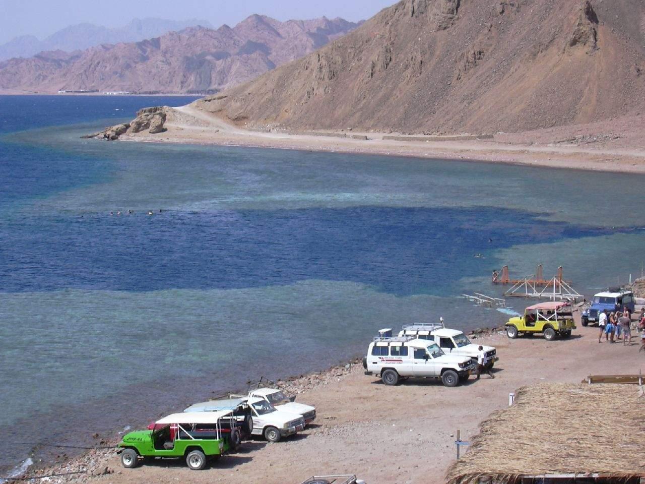 Steinwüste und Blue Hole mit Dahab - Safari mit Schnorcheln im Roten Meer