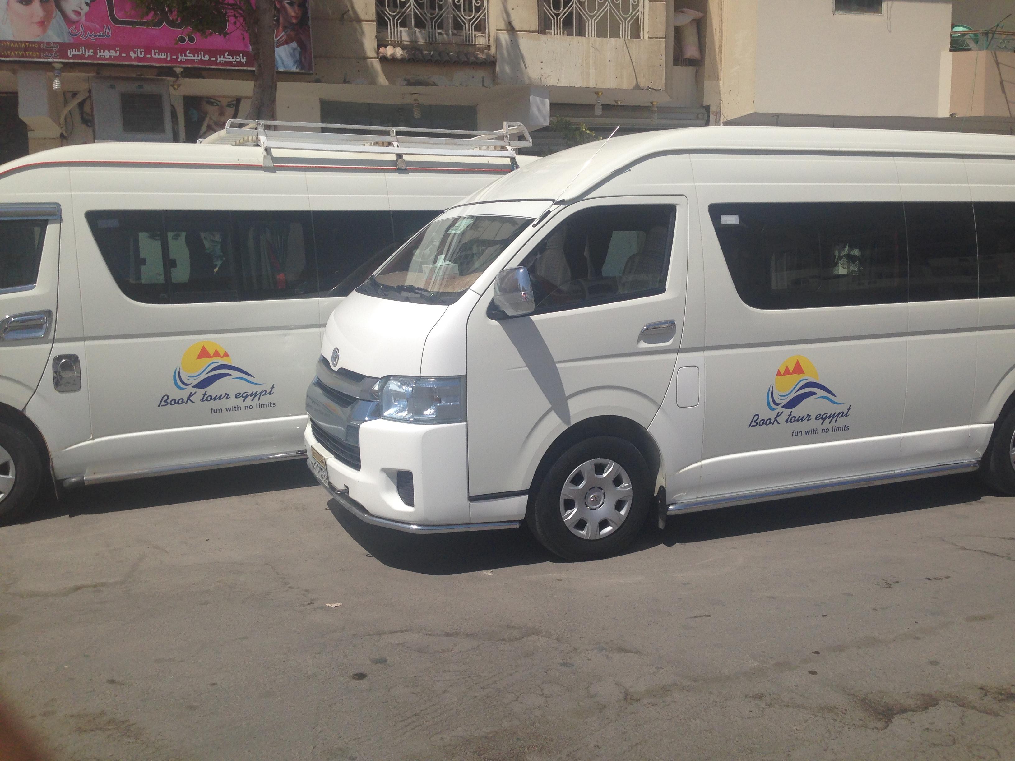 Transfers  und Flughafentransfer von und zu Hotels in Hurghada