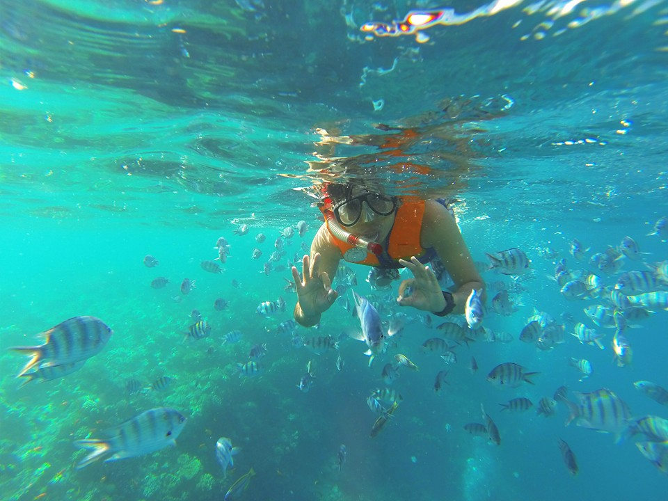 Schnorchelausflug zum Sharm el Naga Bucht ab Soma Bay oder Safaga