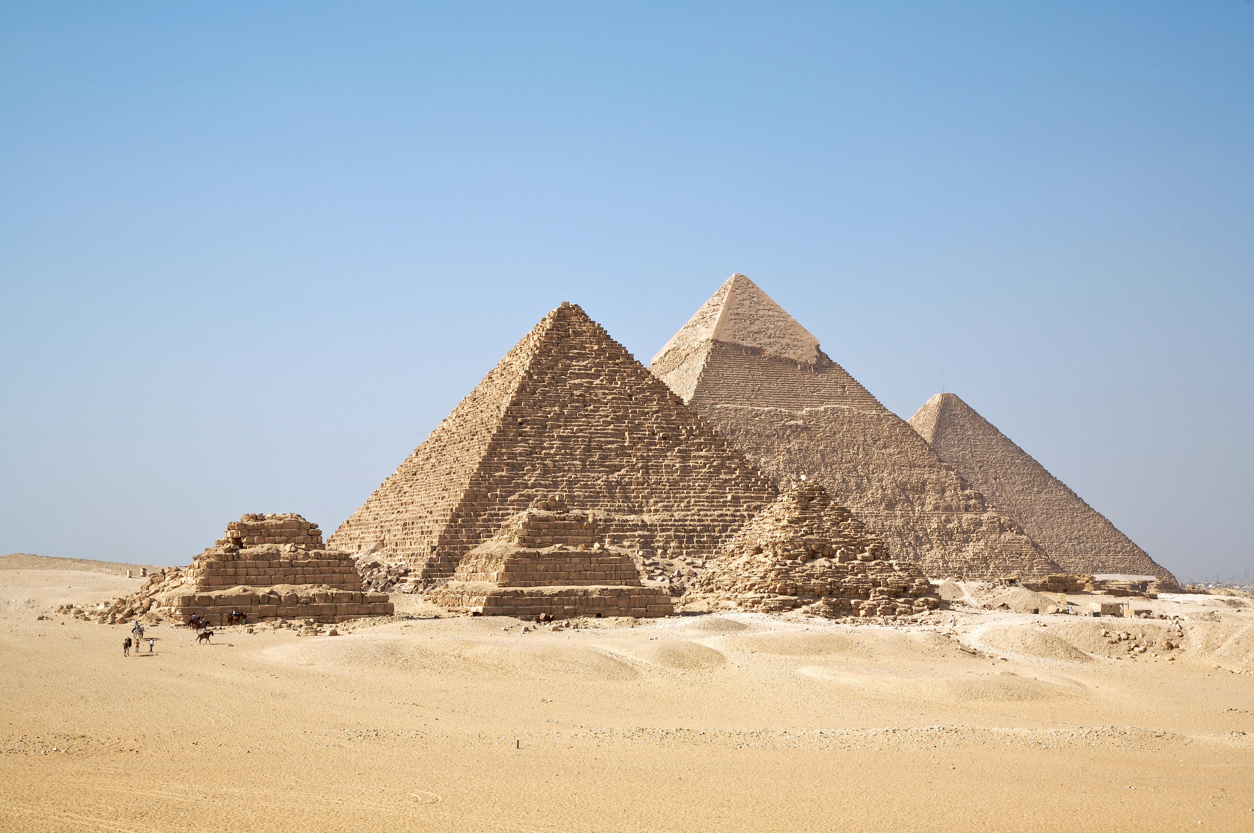 Pyramiden von Gizeh, Sakkara und Dahshur