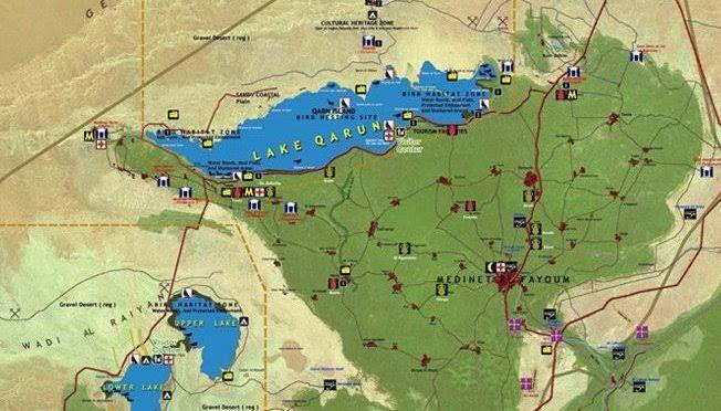 Zweitagesausflug nach Fayoum und Wadi El Hitan